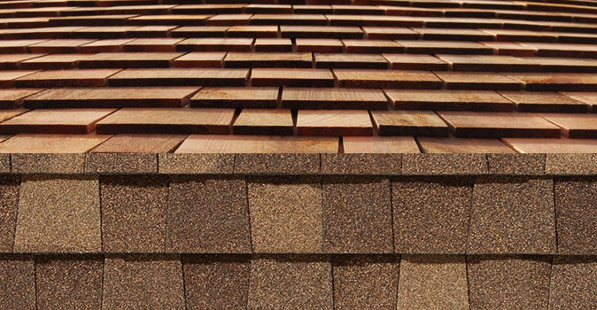 Cedar Shingle Conversion To Fiber Glass Based Laminate